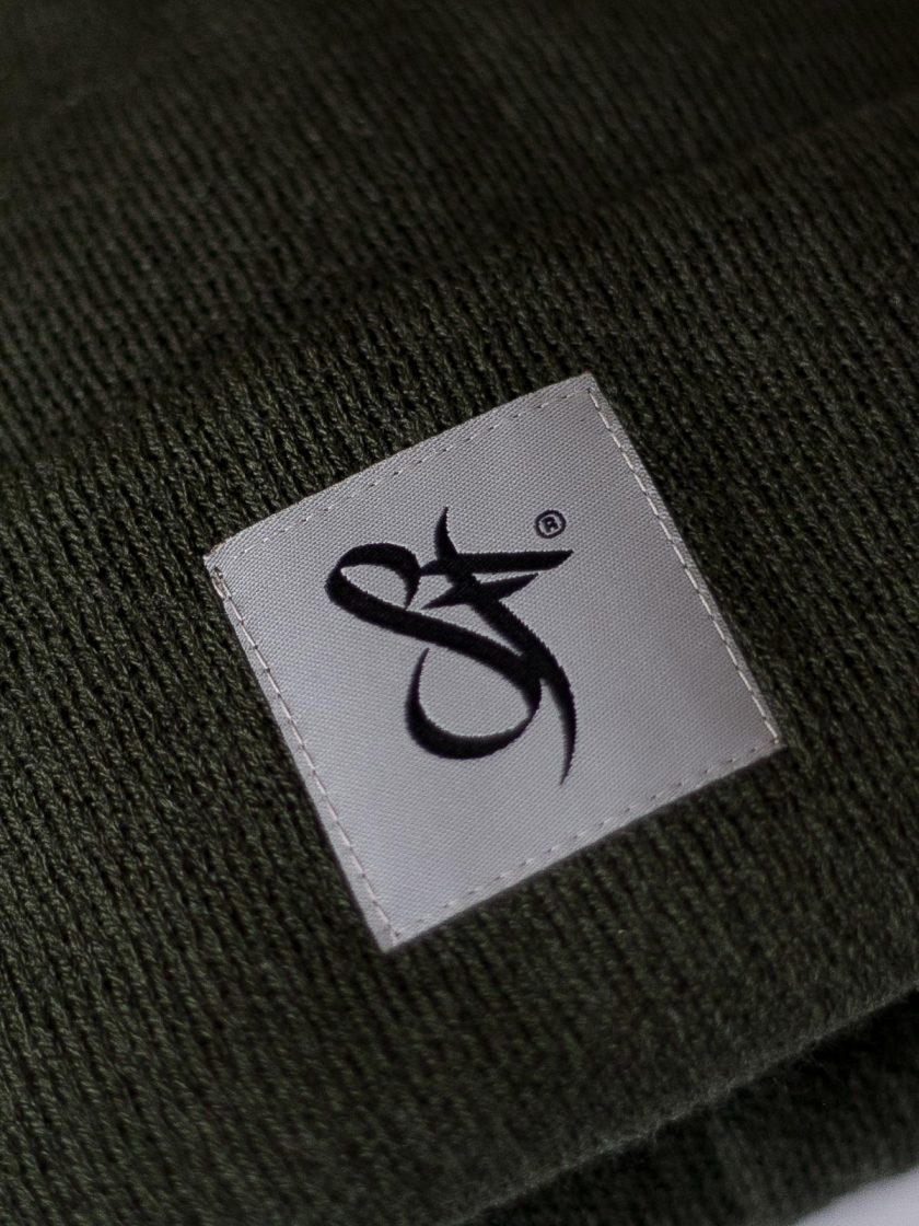 Standfor Tag Beanie Hat green