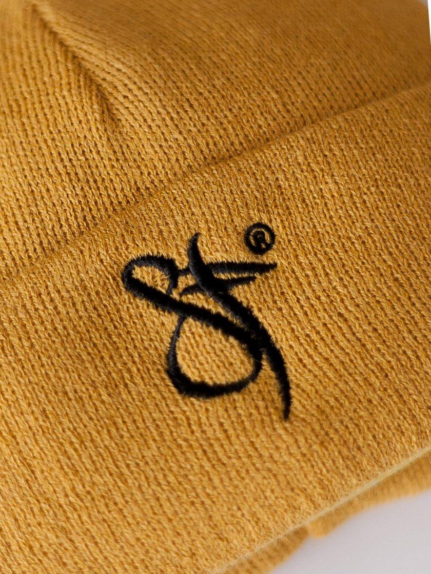 Fisherman Beanie Hat yellow