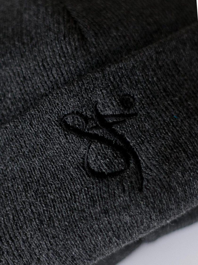 Fisherman Beanie Hat grey