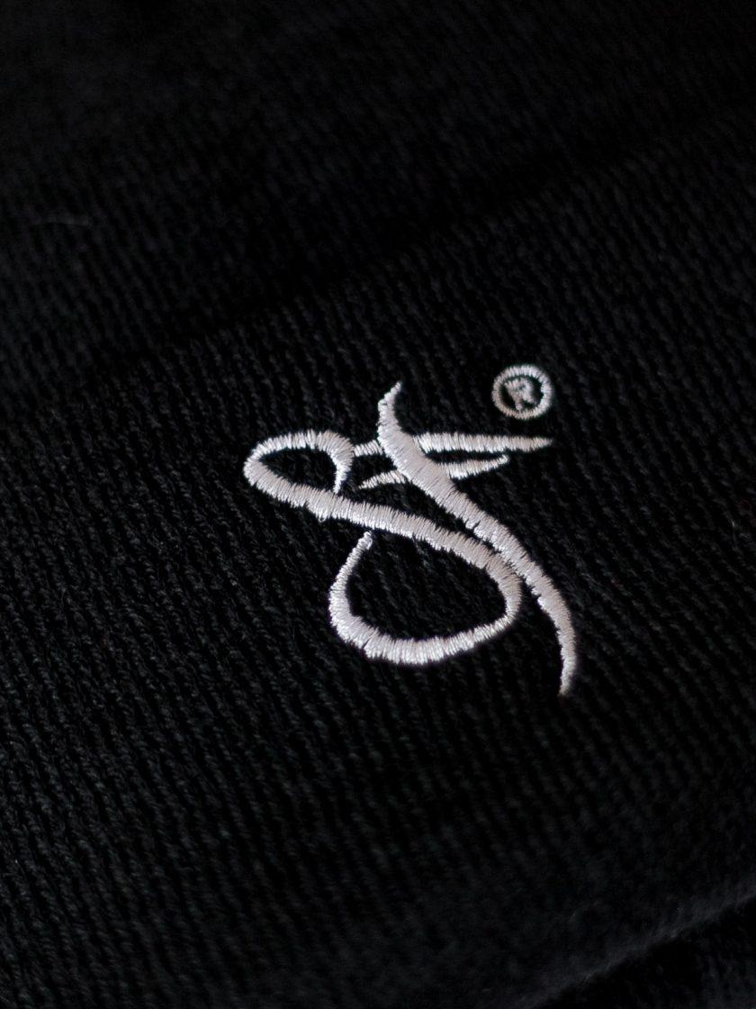 SF Embroidery Beanie darkgrey/white