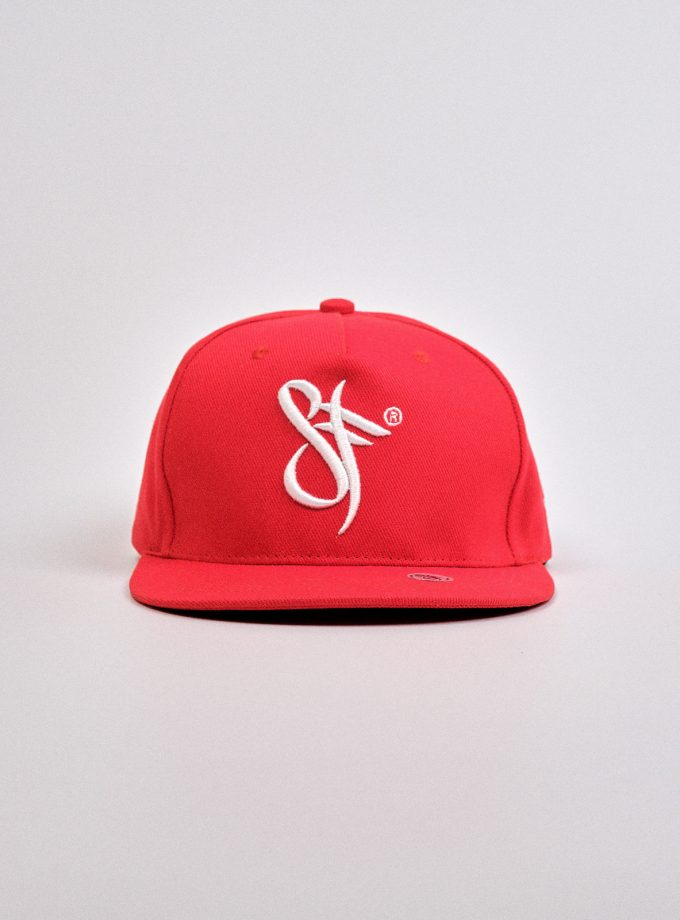 Standfor Snapback Hat Red