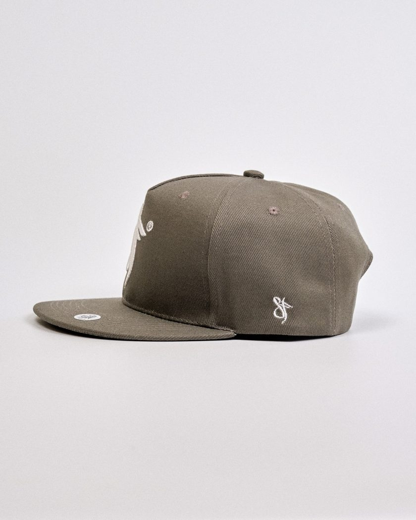 Snapback Hat Concrete Green