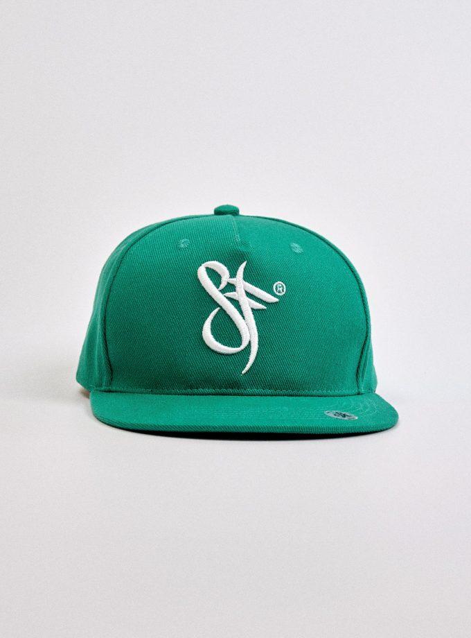 Snapback Hat Irish Green