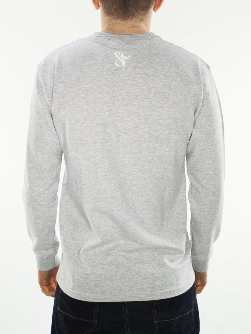 Quality Not Quantity Grey L/S Shirt