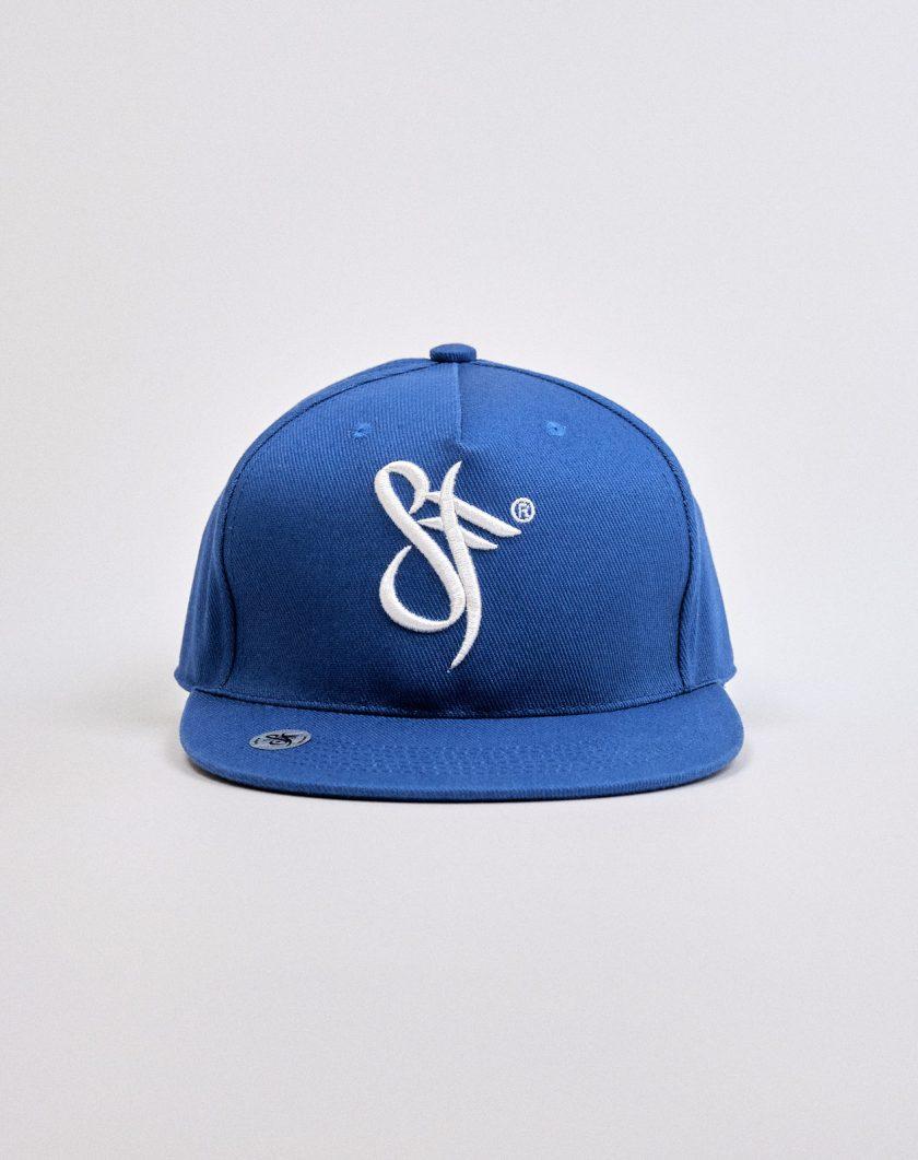 Standfor Snapback Hat Blue