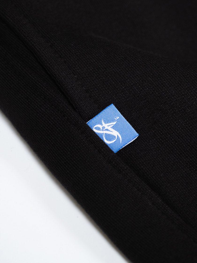 SF Classic Sweatpants Black-Tag Details