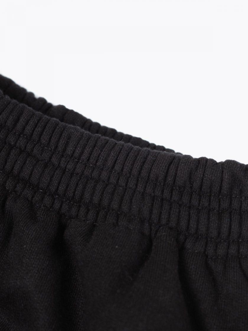 SF Classic Sweatpants Black-Drawstring Details