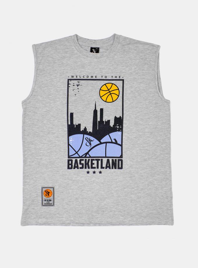 Standfor Basketland Sleeveless Grey