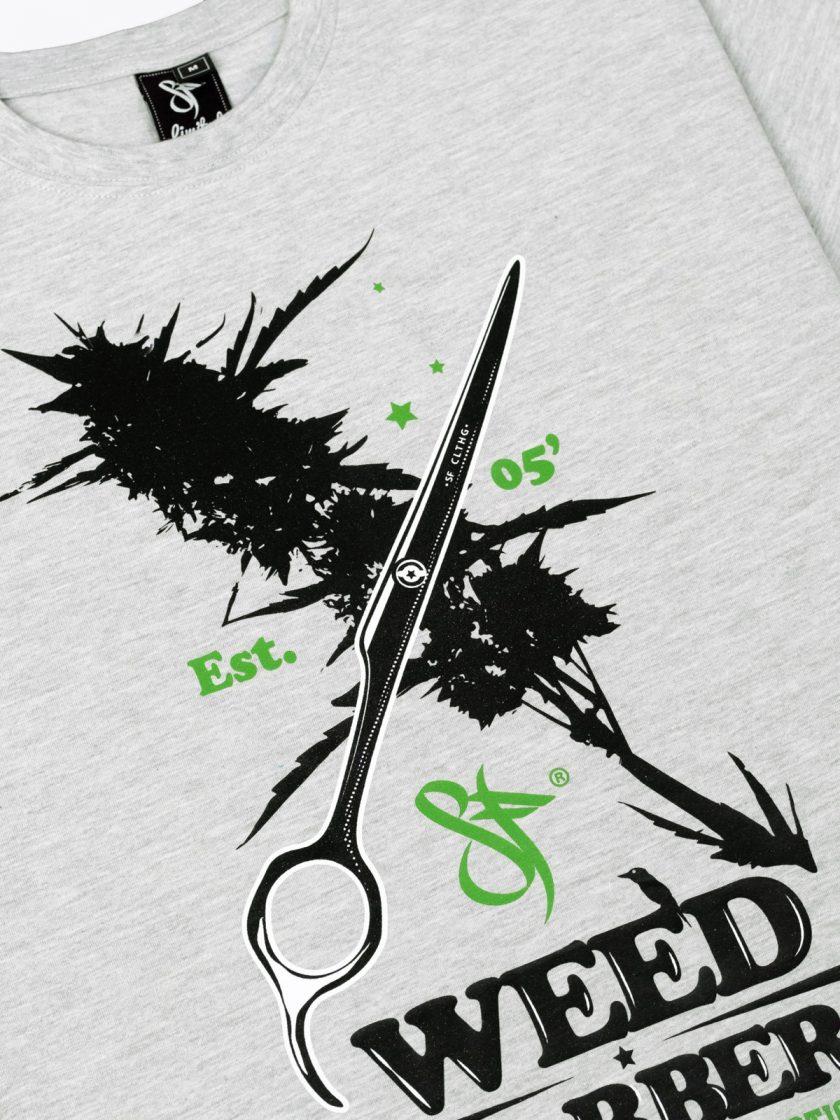 Standfor Weed Barber design detail grey