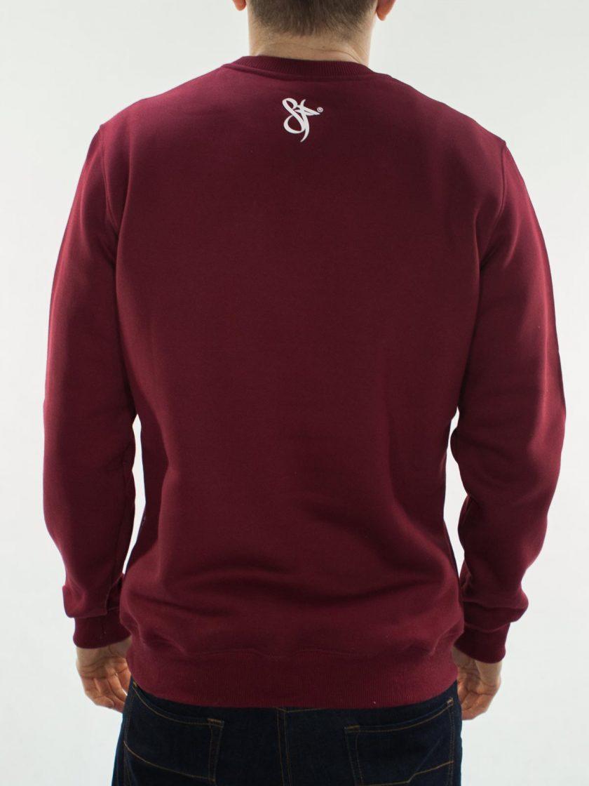 Crewneck SFCLTHG Blood Red Sweatshirt