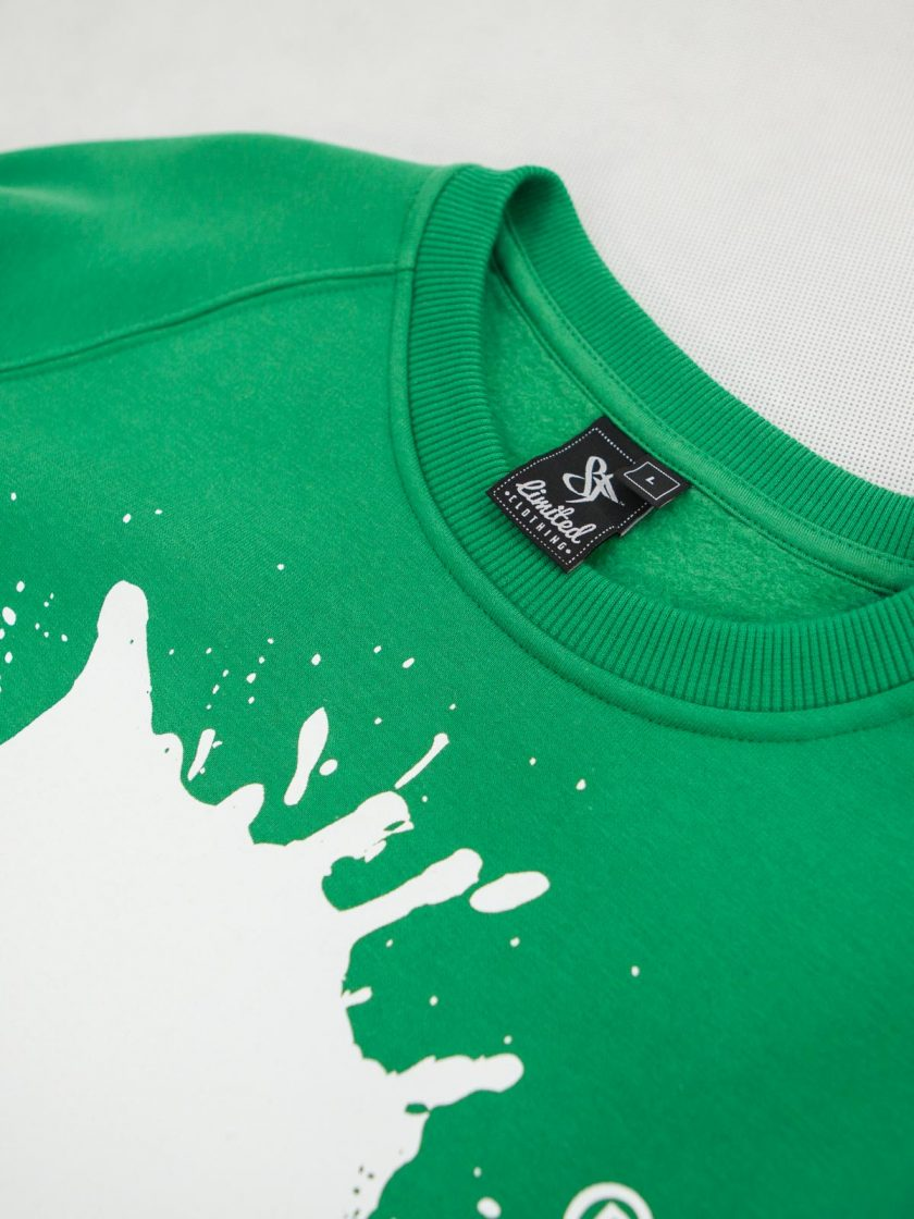 Mr. Ink Sweatshirt Irish Green