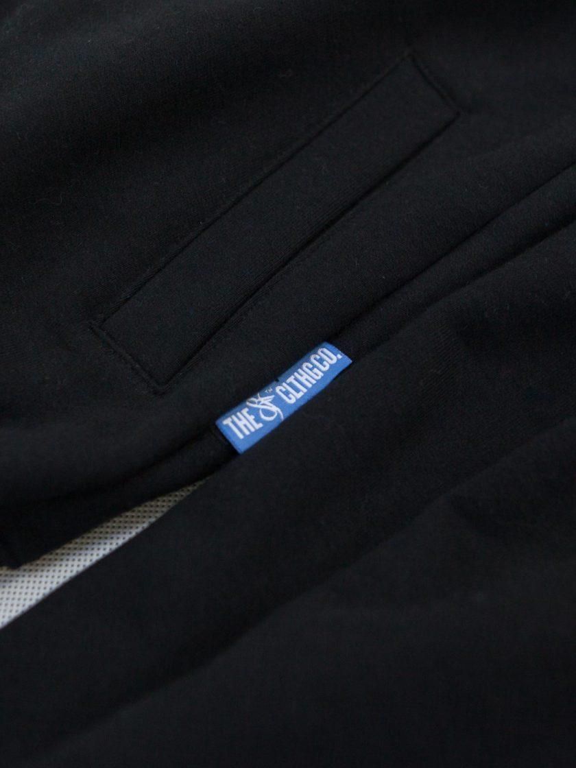 Hoodie Zip Emblem graphite