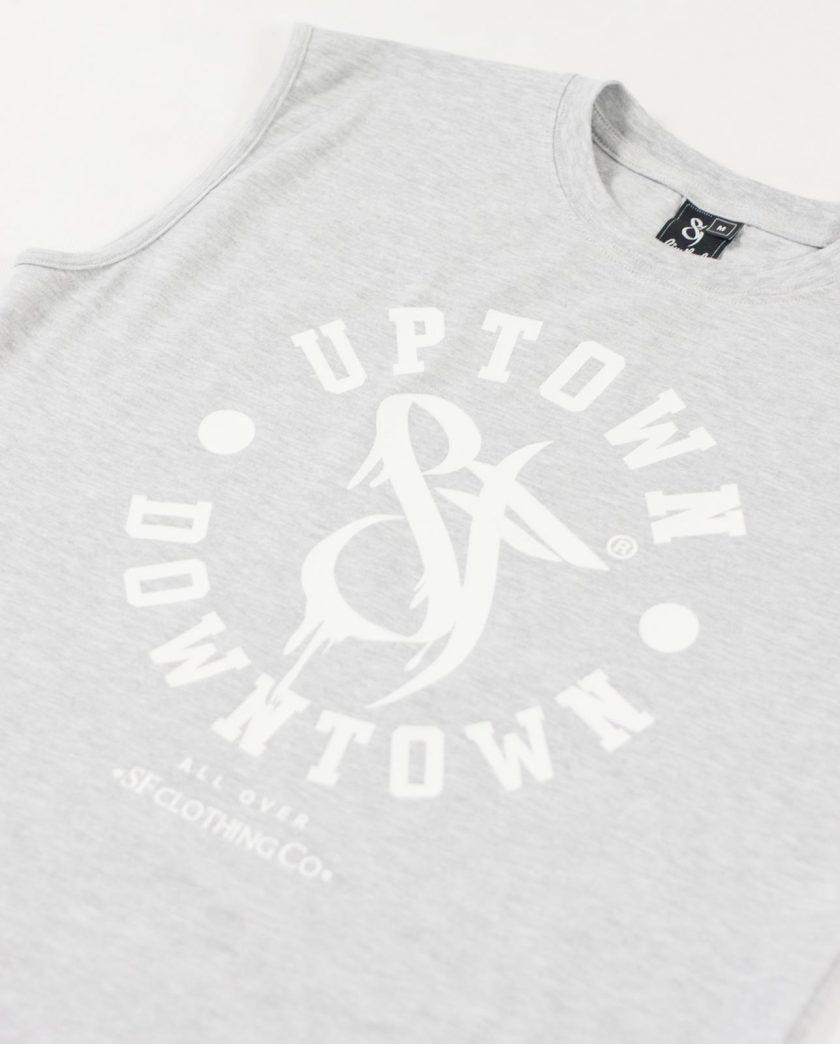 Uptown Downtown Grey Sleeveless