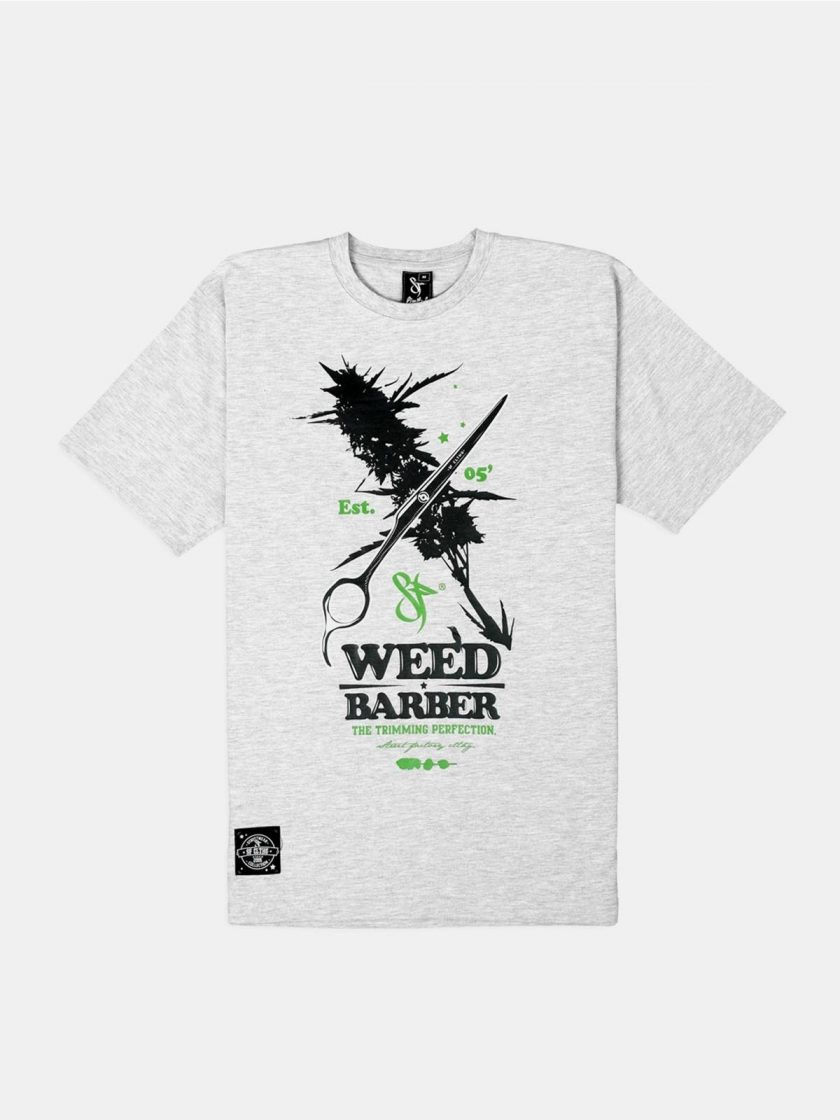 Standfor Weed Barber Tee grey