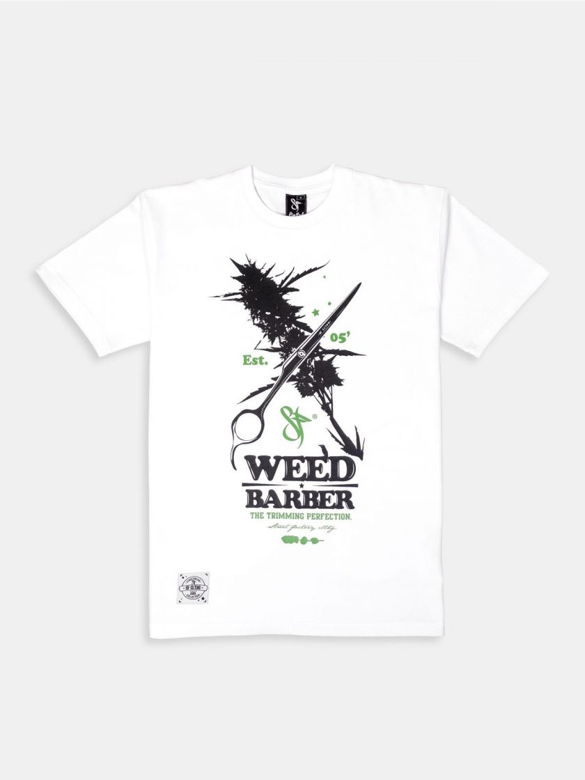 Standfor Weed Barber Tee White