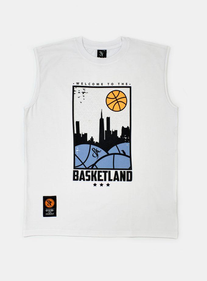 Standfor Basketland Sleeveless White
