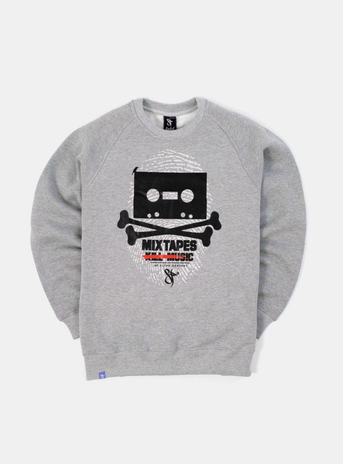 Mixtapes Sweatshirt Grey