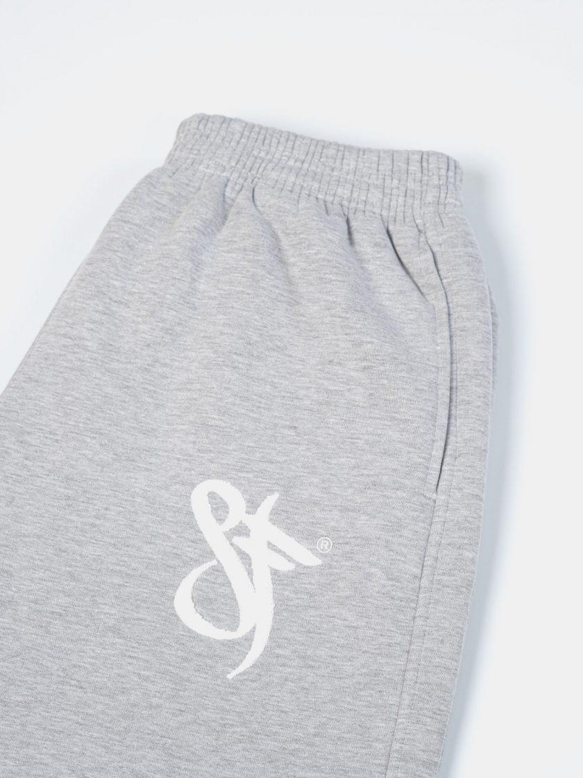 SF Classic Sweatpants Grey-Drawstring Details