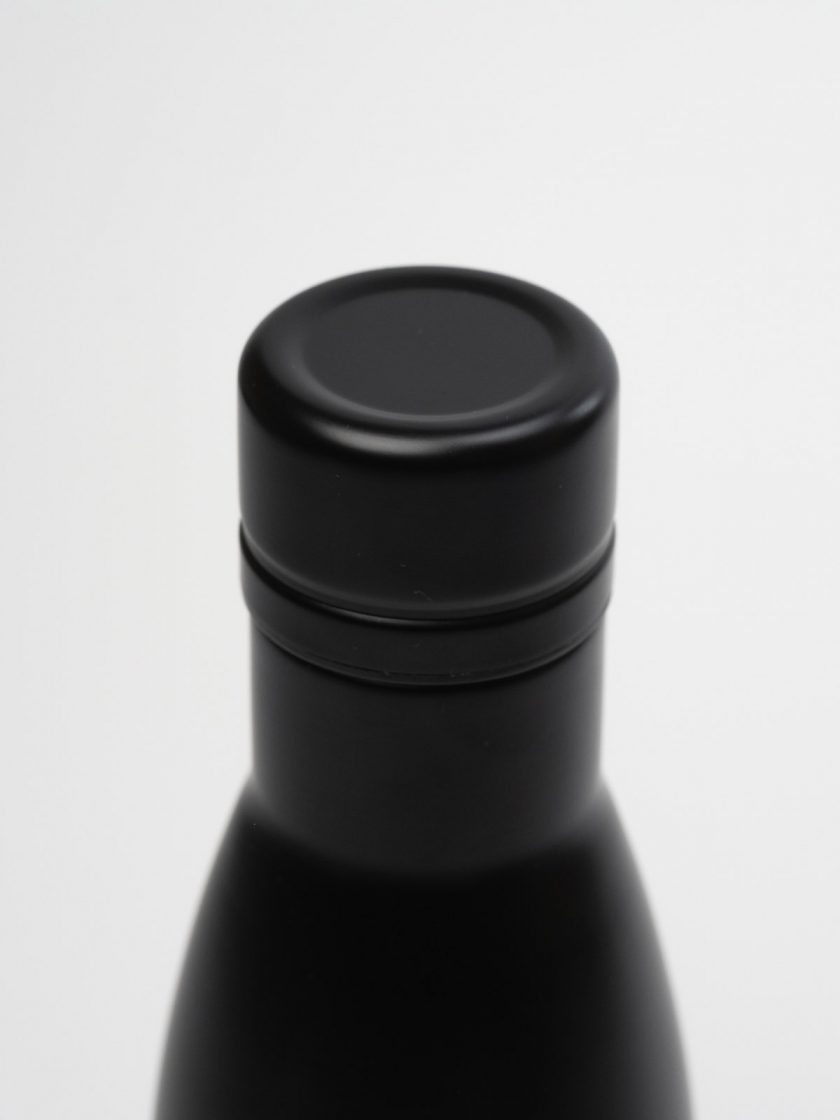 Standfor Classic Thermal Bottle Black-lid detail