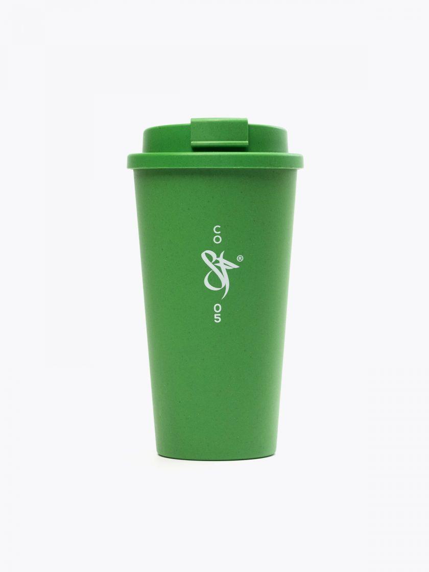 Bamboo Mug Green- SF detail