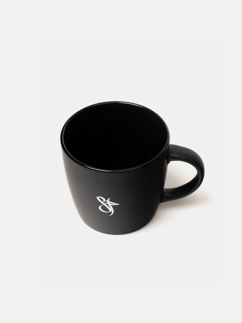 Standfor Supremme Coffee Mug Black top close-up