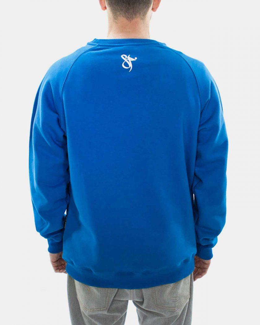 Standfor Drips OG Blue Sweatshirt - Back Details
