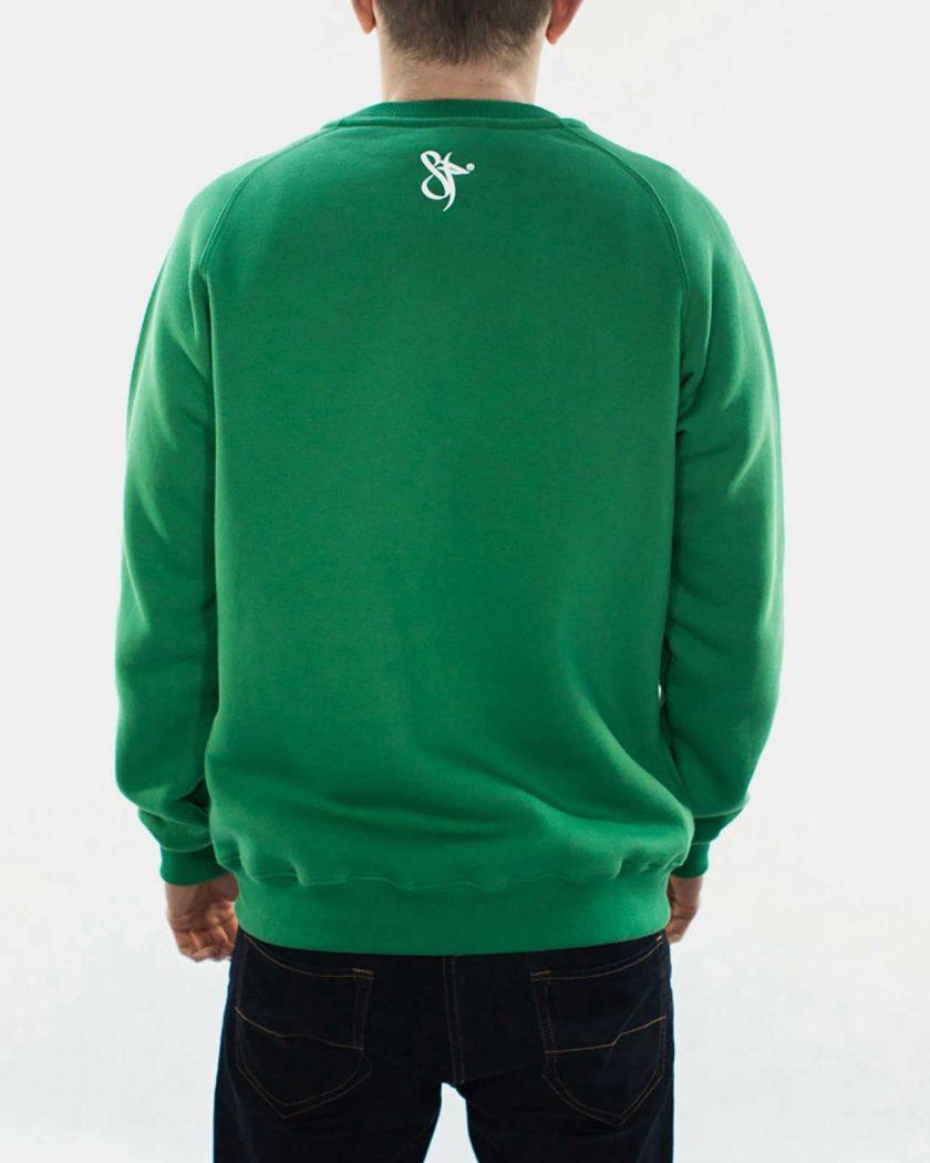 Standfor Drips Irish Green Sweatshirt - Back Details