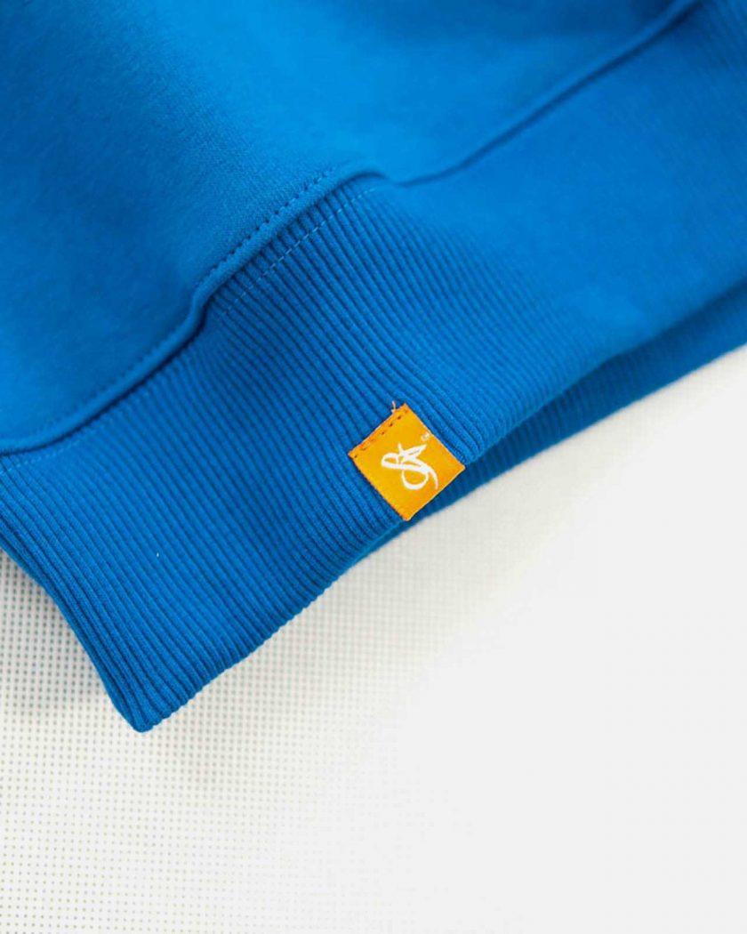 Standfor Drips OG Blue Sweatshirt - Side Tag Details