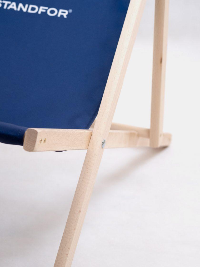 Garden Chair Mr Ink Navy Blue Adjustable Details