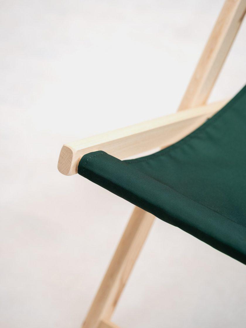 Garden Chair Mr Ink Irish Green Seat details