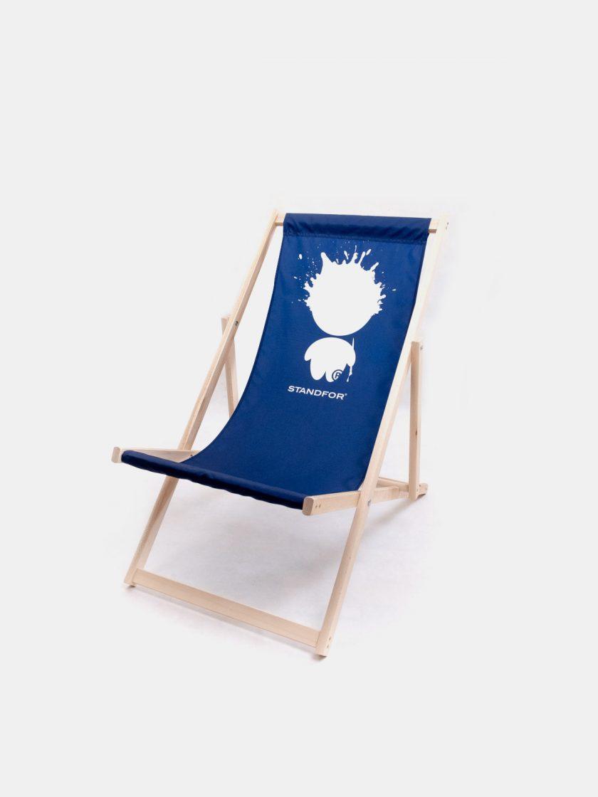 Garden Chair Mr Ink Navy Blue