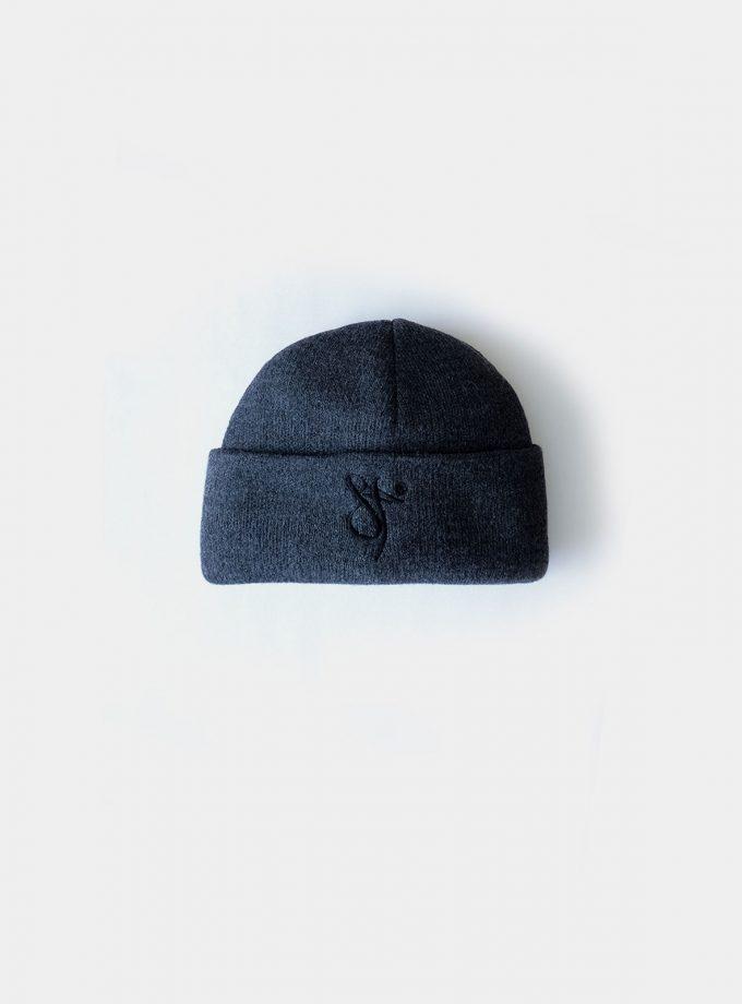 Fisherman Beanie Hat graphite