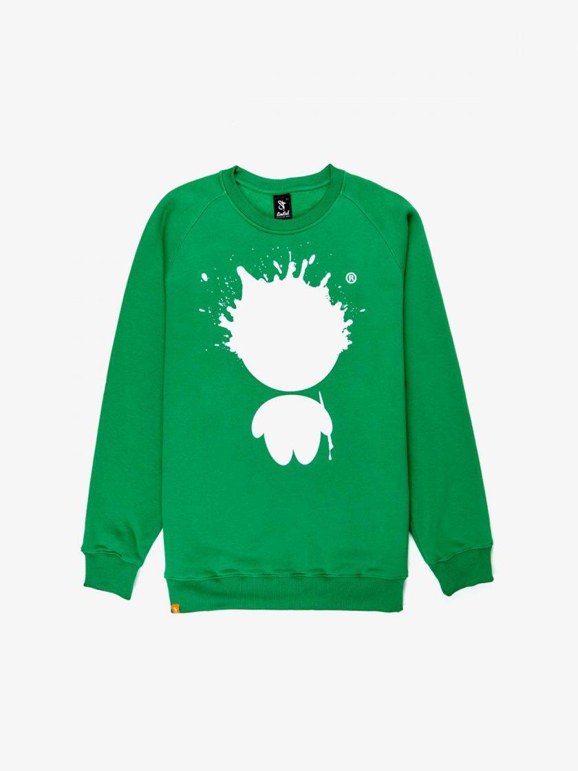 mr ink sweatshirt irish green
