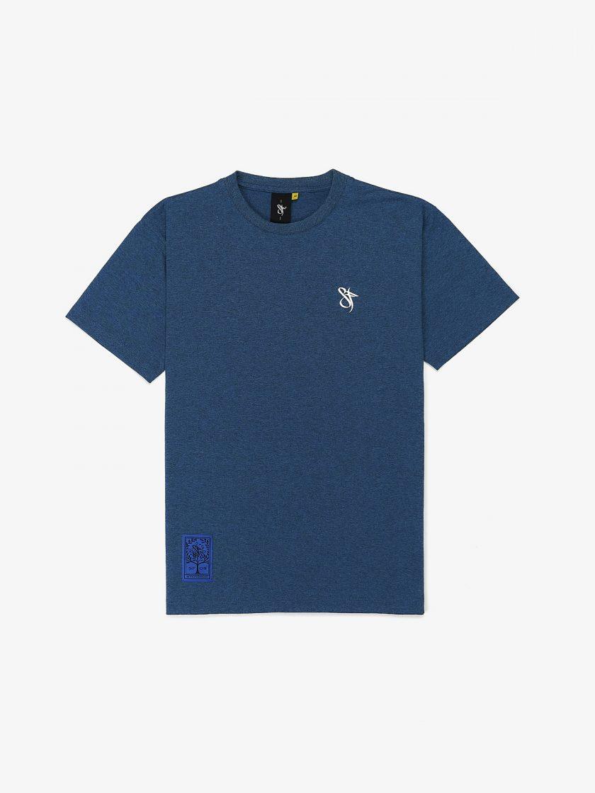 classic melange blue