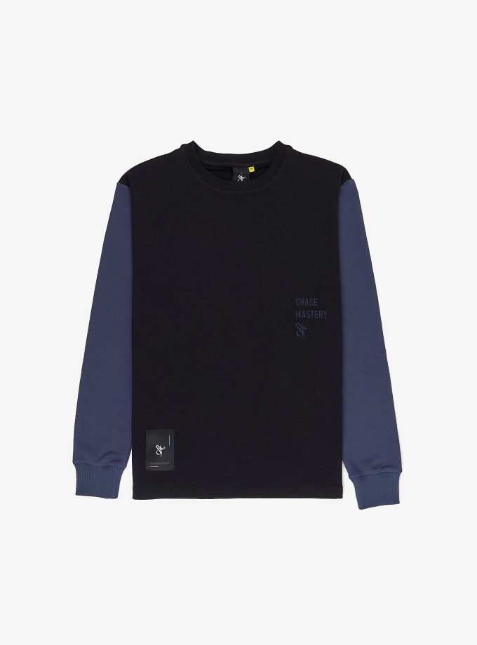 Standfor Chase Mastery Mixed Longsleeve Black- a smart wear for every occasion