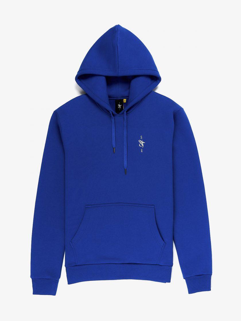 sf crew emblem hoodie true blue