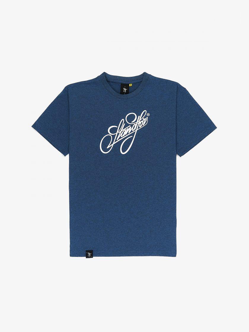 signature melange blue