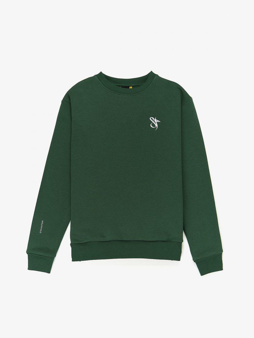 sweatshirt sf classics dusk green