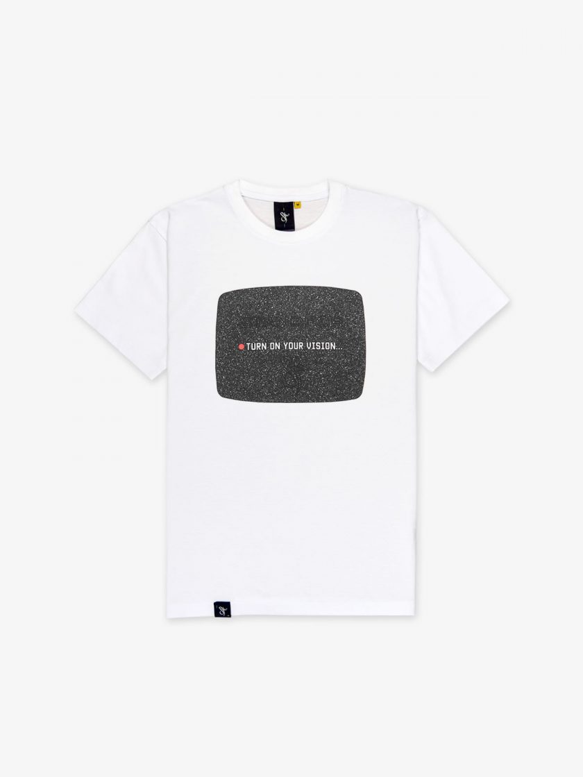 the vision white tee